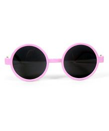 Mauve Collection Round Sunglasses - Purple