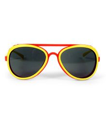 Mauve Collection Fashionable Sunglasses - Red & Yellow