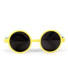 Mauve Collection Nerdy Sunglasses - Yellow & Blue