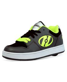 Heelys Casual Shoes with Lace - Neon Green & Grey