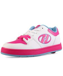Heelys Casual Shoes with Lace - White & Hot Pink