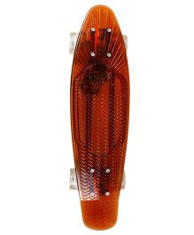 Sunset Skateboard Co Solid Design Skateboard - Brown