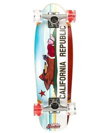 Sunset Skateboard Co Alders Skateboard - White