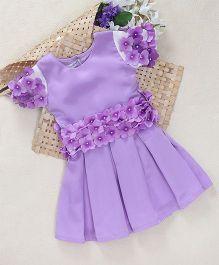Shu Sam Smith Flower Girl Dress - Mauve