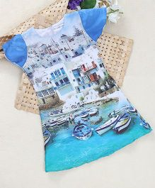 Shu Sam Smith Greek Holiday Dress - Multi