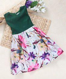 Shu Sam Smith Summer Semi Floral Dress - Multi