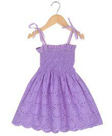 Tia'S Closet Smock Dress - Purple