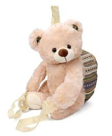 Starwalk Plush Teddy Bear Backpack Beige - 36 cm