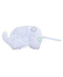 Baby Pillow Elephant Shape - Sky Blue