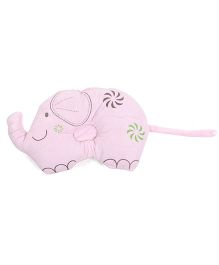 Baby Pillow Elephant Shape - Pink