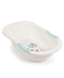 Baby Bath Tub- Cream Blue