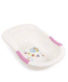 Baby Bath Tub- Cream Pink