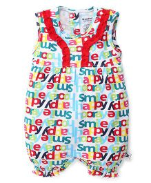 Wonderchild Printed Romper - Multicolour
