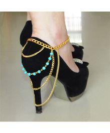 Funkrafts High Heel Shoe Jewelry - Golden