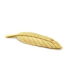 Funkrafts Feather Broach - Golden