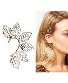 Funkrafts Leaf Earing - Golden
