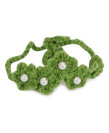 Treasure Trove Crochet Knot Hairband - Green