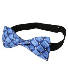 Needybee Pre Stitched Bow Tie With Buckle Closure - Blue