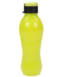 Cello Homeware Splash Flip Top Water Bottle Yellow - 600 ml