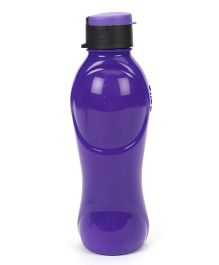Cello Homeware Splash Flip Top Water Bottle Purple - 600 ml