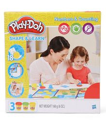Play Doh Shape And Learn Numbers And Counting - Multi Color