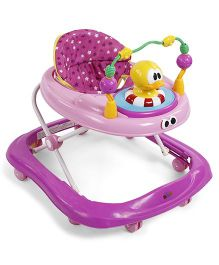 Baby Musical Walker With Duck Toy - Purple