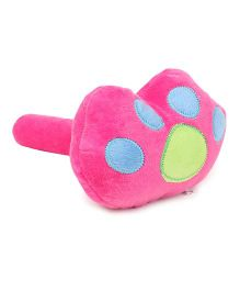 Musical Hammer Soft Toy Animal Paw Shape - Pink