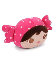Musical Hammer Soft Toy Dark Pink - Length 23 cm