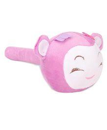 Musical Hammer Soft Toy Monkey Face Purple - 24 cm