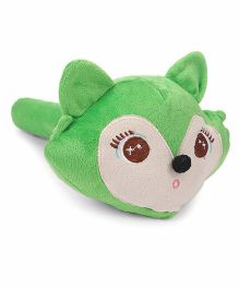 Musical Hammer Soft Toy Mouse Face Green - Length 24 cm