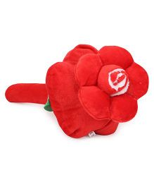 Musical Hammer Soft Toy Floral Shape Red - 24 cm
