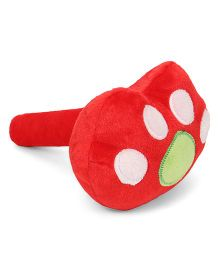 Musical Hammer Soft Toy Animal Paw Shape Red - 24 cm