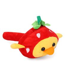 Musical Hammer Soft Toy Duck Face Red - 24 cm