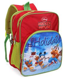 Disney Mickey Mouse and Friends School Bag - 12 Inches
