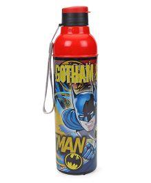 Cello Homeware Sonic Sipper Bottle Batman Print Red- 600 ml