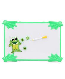 Froggy Design Drawing Board - White & Green