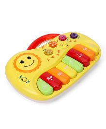 Sun Print Musical Piano Instrument Toy - Yellow