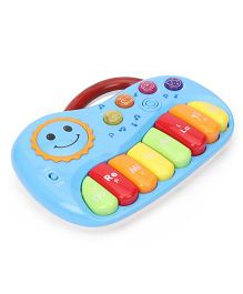 Sun Print Musical Piano Instrument Toy - Blue