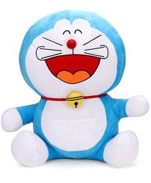Doraemon Crawling Soft Toy Blue - 61 cm