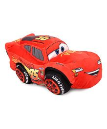 Disney Pixar Cars Lightning McQueen Plush Toy Red - 25 cm