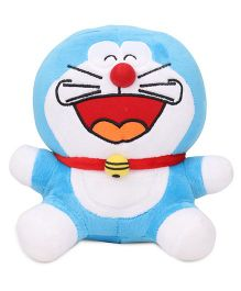 Doraemon Laughing Plush Soft Toy Blue - Height 20 cm