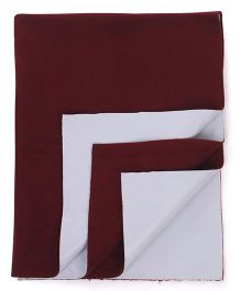 Adore Insta Dry Bed Protector Sheet Medium - Maroon