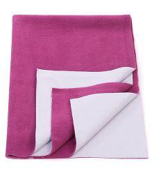 Adore Insta Dry Bed Protector Sheet Medium - Purple