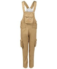 FirstClap Dungaree - Khaki