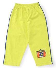 Tango Track Pant Camera Print - Yellow
