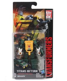 Transformers Generations Titans Return Brawn Figure Green - 8 cm