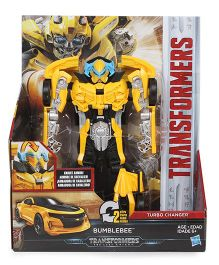 Transformers The Last Knight Bumblebee Figure Yellow - 19 cm