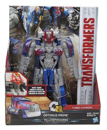 Transformers The Last Knight Optimus Prime Figure Blue - 19 cm