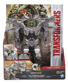 Transformers The Last Knight Grimlock Figure Silver - 19 cm