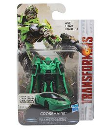 Transformers The Last Knight Crosshairs Figure Green - 6 cm